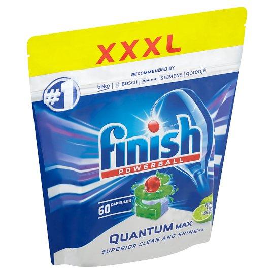 Finish Powerball Quantum Max Apple Lime Blast Dishwasher Tablets 60 pcs 930 g