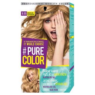 Schwarzkopf Pure Color farba na vlasy Zlatistá Obloha 9.55
