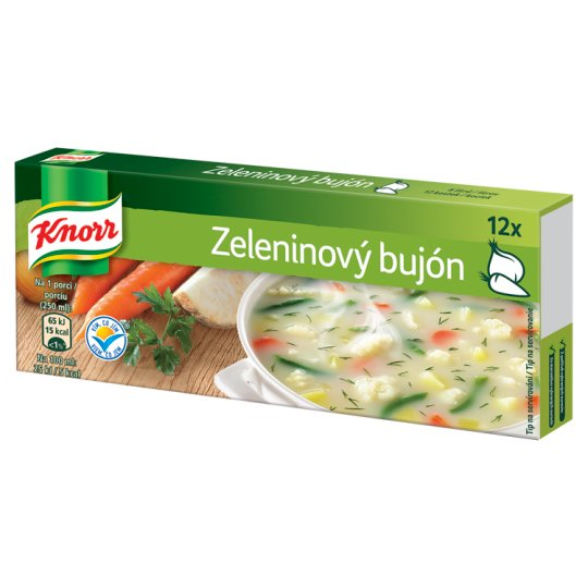 Knorr Vegetable Stock Cubes 12 x 10 g