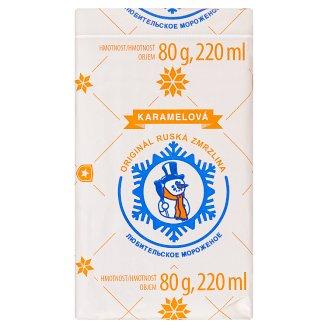 Originál Ruská Zmrzlina Caramel 220 ml