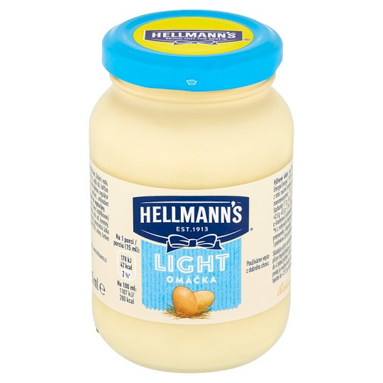 Hellmann's Light Mayonnaise Sauce 225 ml