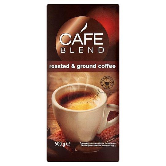 Café Blend Zmes praženej mletej kávy Robusta a Arabica 500 g