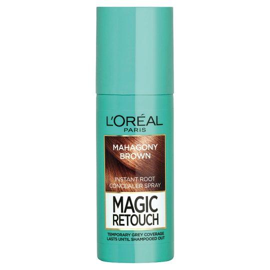 L'Oréal Paris Magic Retouch Mahagony Brown sprej na okamžité zakrytie odrastov 75 ml