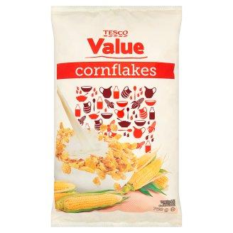 Tesco Value Kukuričné lupienky s vitamínmi a železom 750 g