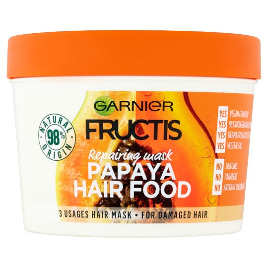 Garnier Fructis Papaya Hair Food balzam 390 ml