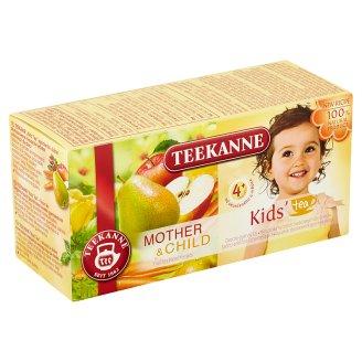 TEEKANNE Mother & Child, Kids' tea, ovocno-bylinný čaj, s mrkvou a medovkou, 20 vrecúšok, 45 g