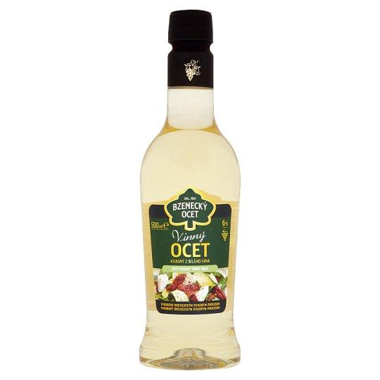 Bzenecký Ocet Fermented Vinegar Wine White 6% 500 ml