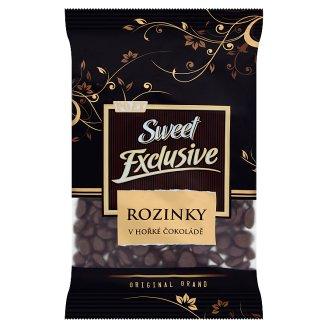 Poex Sweet Exclusive Sušené hrozienka v horkej čokoláde 200 g