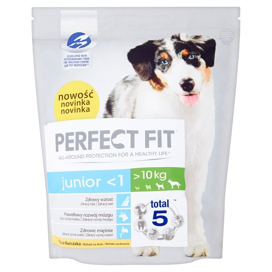 Perfect Fit Junior <1 bohaté na kuracie 1,4 kg