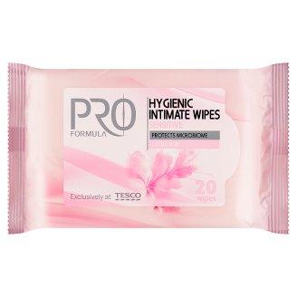 Tesco Pro Formula Sensitive obrúsky na intímnu hygienu 20 ks