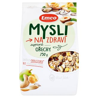 Emco Mysli na Zdraví Mysli sypané orechy 750 g