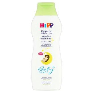 HiPP Babysanft Sensitiv kúpeľ na dobrú noc 350 ml