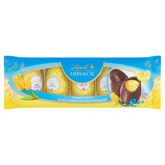 Lindt Horká čokoláda plnená vaječným likérom 90 g