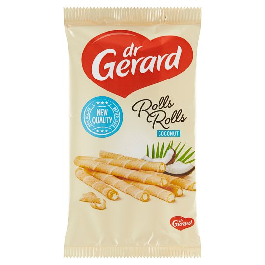 dr Gerard Wafer Rolls with Coconut Filling 160 g