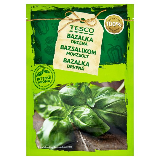 Tesco Bazalka drvená sušená 10 g