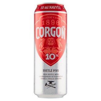 Corgoň 10% svetlé výčapné pivo 550 ml