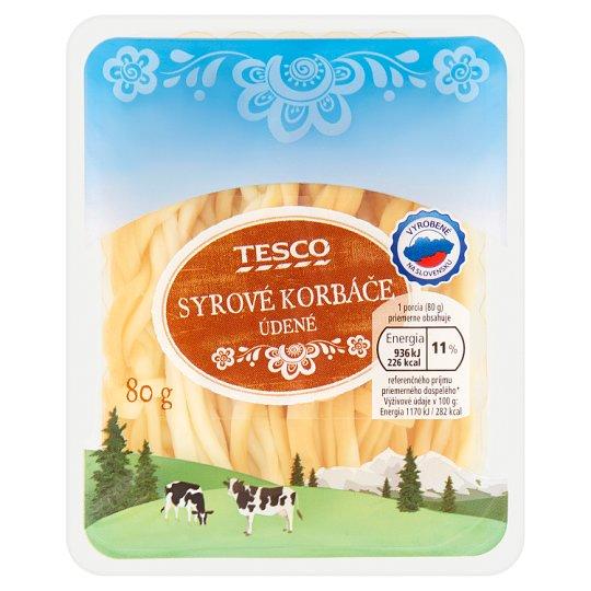 Tesco Cheese Whips Smoked 80 g