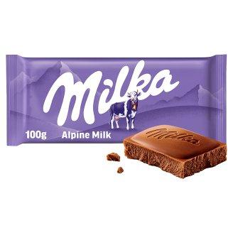 Milka Alpine Milk Chocolate 100 g