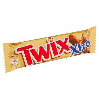 Twix Xtra sušienka s karamelom máčaná v mliečnej čokoláde 2 x 37,5 g