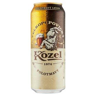 Velkopopovický Kozel 11% Beer Shadowy Draft Lager 500 ml