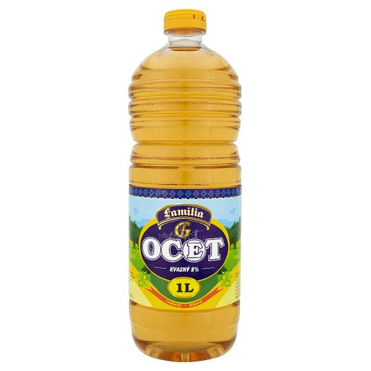 Familia Fermentation spirit vinegar 8 % 1 L
