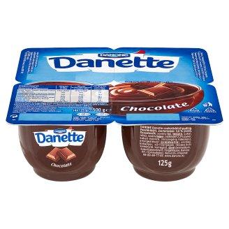 Danone Danette Milk Dessert Chocolate 4 x 125 g