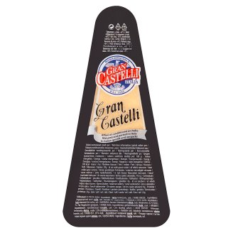 Gran Castelli Extra tvrdý polotučný zrejúci syr 125 g