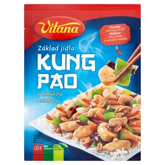 Vitana Kung Pao with Chine Mushrooom Bases of Dish 80 g