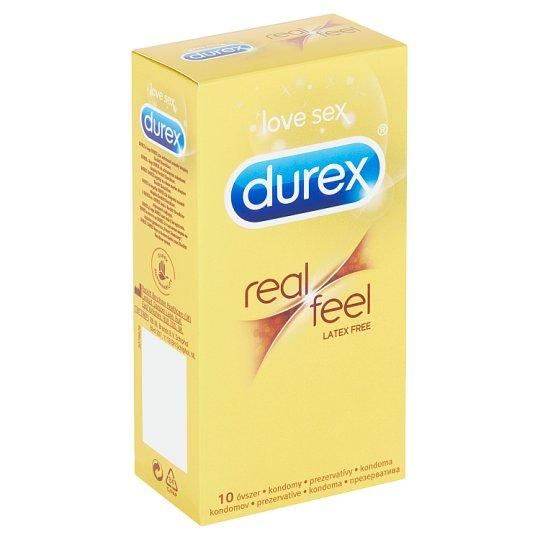 Durex Real Feel prezervatívy 10 ks