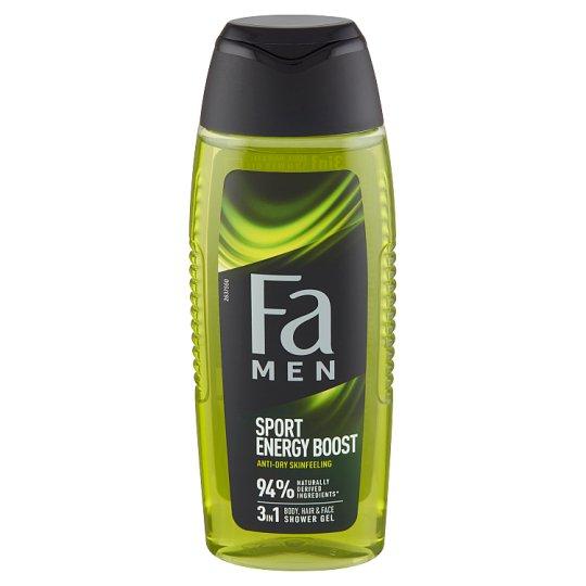 Fa Men Xtreme sprchovací gél Sport Energy Boost 250 ml