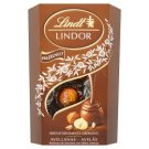 Lindt Lindor Milk Chocolate Bonbons with Hazelnut Pieces and Fine Cream Filling 200 g