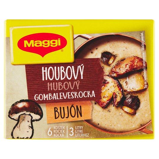 MAGGI Mushroom Broth in Cube 3 L 6 x 10 g