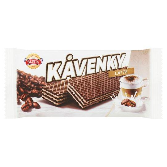 Sedita Kávenky Latte Crispy Wafers with Coffee Cream Filling 50 g