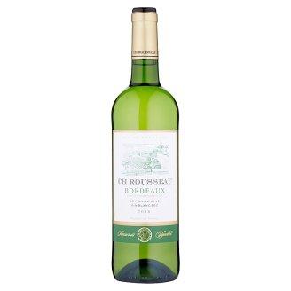 Ch Rousseau Bordeaux Dry White Wine 750 ml