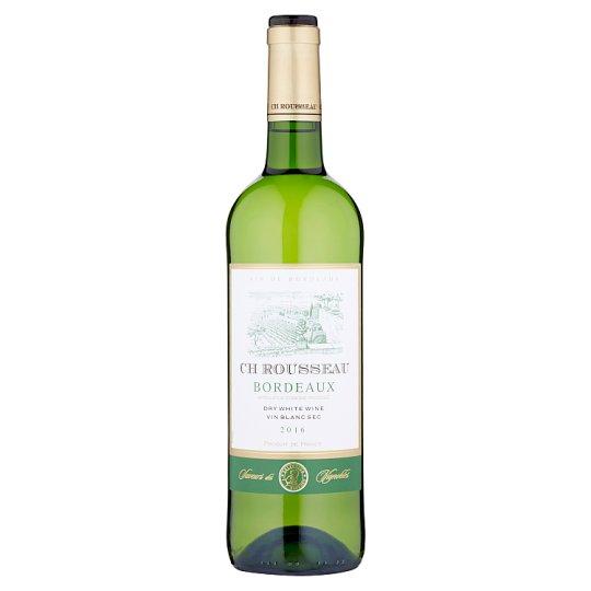 Ch Rousseau Bordeaux biele víno suché 750 ml