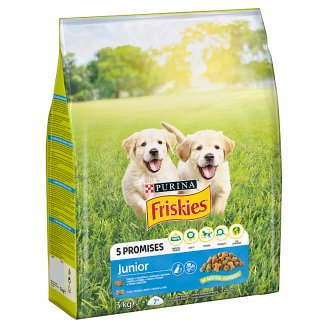 Friskies for Puppies Junior with Chicken, Vegetables and Milk 3 kg