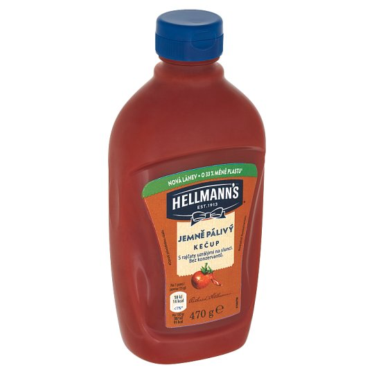 Hellmann's Softly Hot Ketchup 470 g