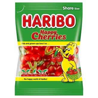 Haribo Happy Cherries mäkké želé cukrovinky s ovocnými príchuťami 200 g
