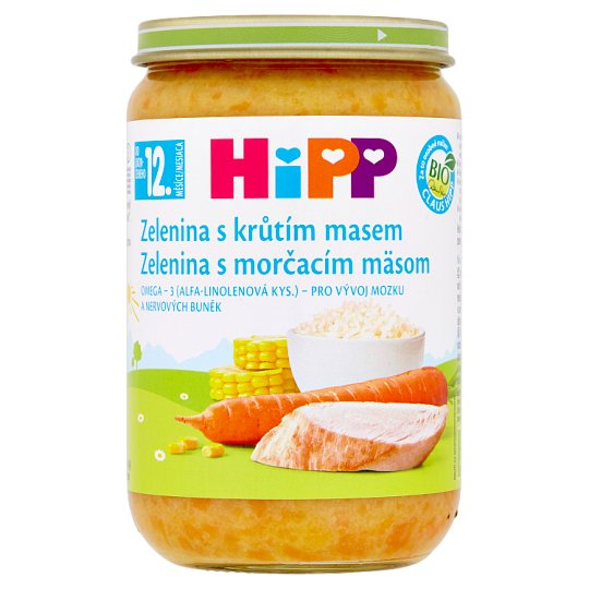 HiPP Organic Vegetables with Turkey Meat 220 g