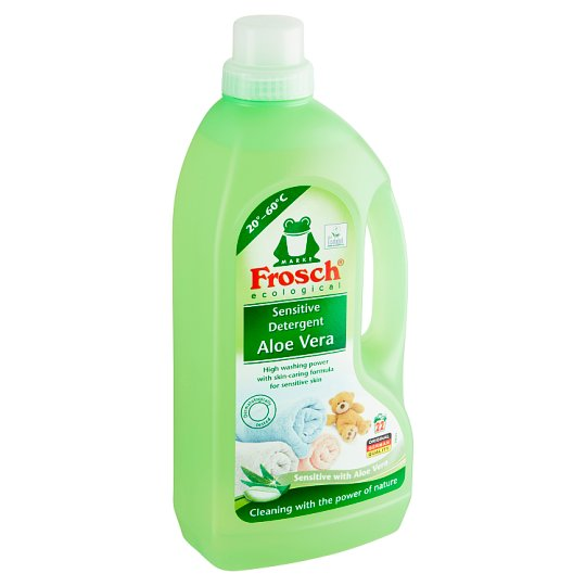 Frosch Ecological Aloe Vera Sensitive Detergent 22 Washes 1500 ml
