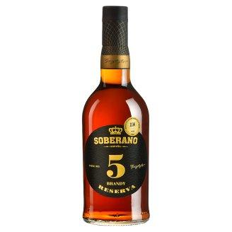 Soberano 5 Brandy Reserva 36% 700 ml