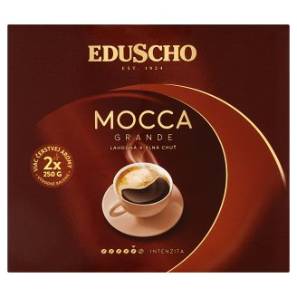 Eduscho Mocca Grande pražená mletá káva 2 x 250 g