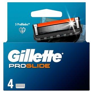 Gillette Fusion5 ProGlide Náhradné Holiace Hlavice, 4 Kusy