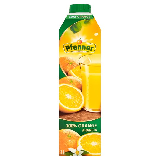 Pfanner 100% Orange Juice Made from Concentrate 1 L