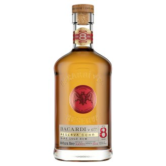 Bacardí Gran Reserva 8 ročné rum 40% 0,7 l