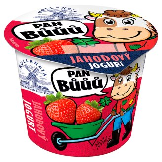 Hollandia Pan Bůůů Jahodový jogurt 90 g