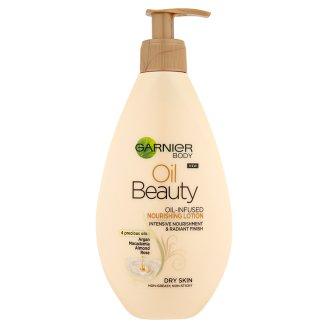 Garnier Body Oil Beauty vyživujúce olejové telové mlieko 250 ml