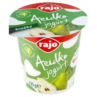 Rajo Acidko Jogurt s kultúrou Lb. acidophilus hruška 135 g