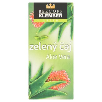 Bercoff Klember Green Aloe Vera Green Tea 20 x 1.5 g