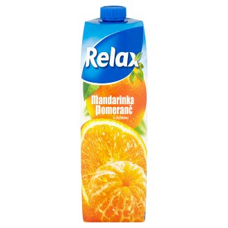 Relax Mandarin Orange with Pulp 1 L